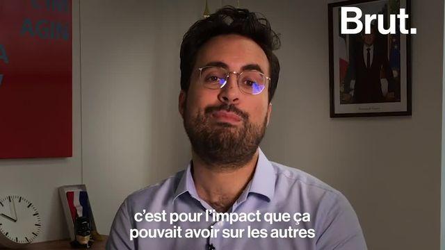 Il est secrétaire d'État au numérique et il a fait le une de Paris Match avec son compagnon. Mounir Mahjoubi revient sur les raisons qui l'ont poussé à faire cela. Focus.