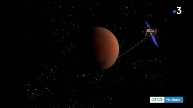 Espace : un lac souterrain découvert sur Mars