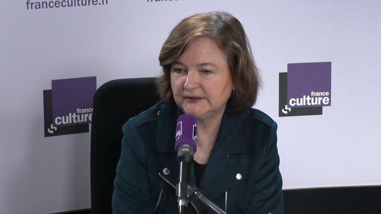 Nathalie Loiseau, invitée sur France Culture, lundi 29 avril. (FRANCE CULTURE)