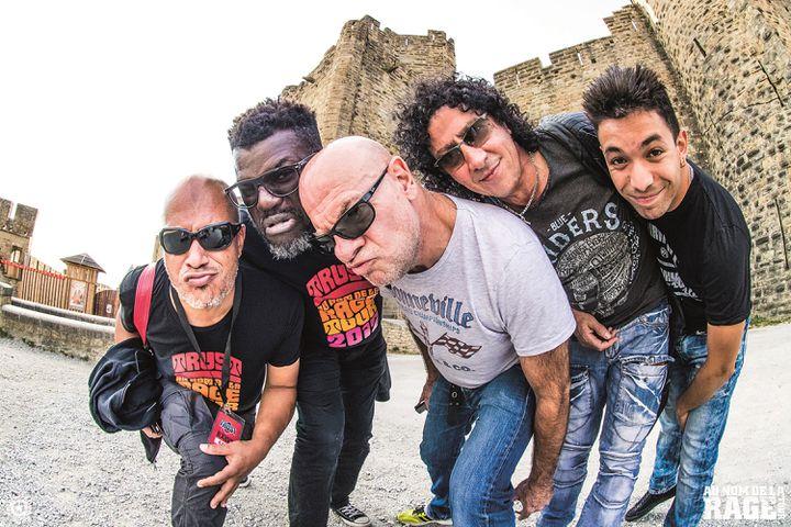 David Jacob (basse),Izo Diop (guitares),Bernie Bonvoisin (chant),Norbert Nono Krief (guitares),etChris Dupuy (batterie) (MATHIEU NINAT)