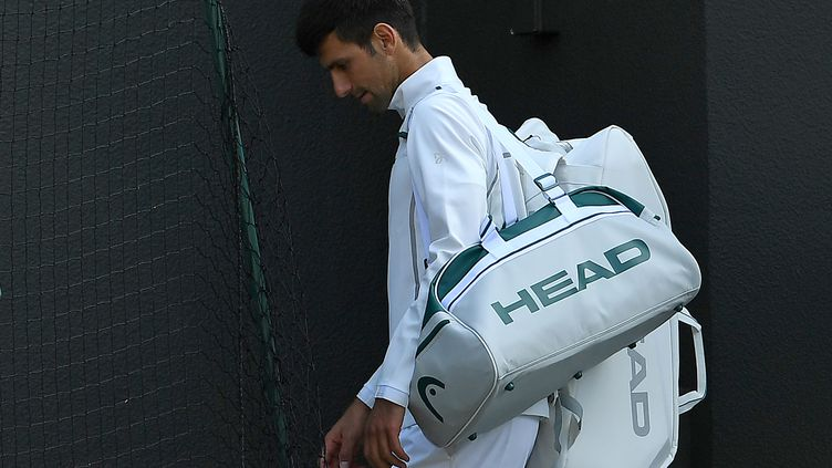 Novak Djokovic met un terme à sa saison (GLYN KIRK / AFP)
