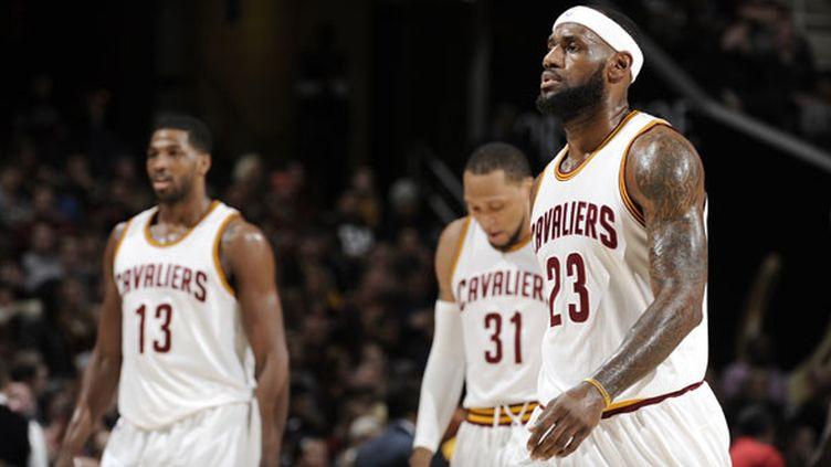 LeBron James, la star des Cleveland Cavaliers