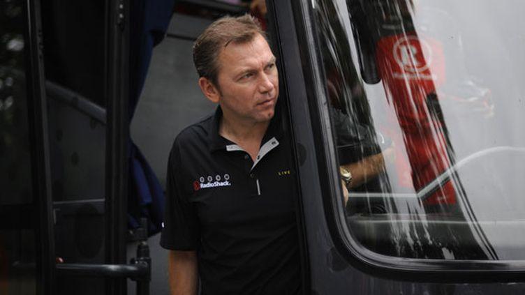 L'ancien directeur sportif de US Postal Johan Bruyneel