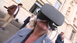 La réalité virtuelle pourlutter contre les violences sexistes et sexuelles dans l'enseignement supérieur. (CAPTURE D'ÉCRAN FRANCE 3)