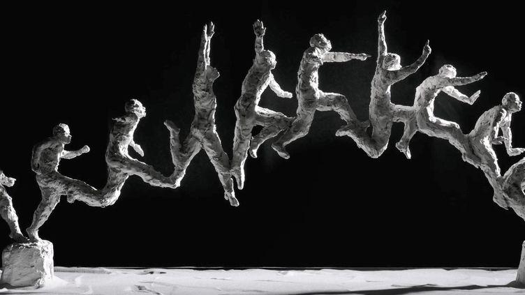 Les sculptures en mouvement d'Emilie Tolot prennent vie dans une exposition à Lyon (France 3 Aura)