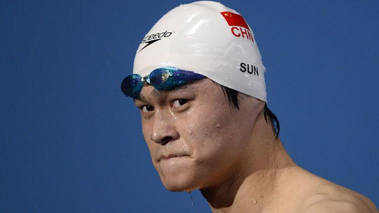Le nageur chinois Sun Yang