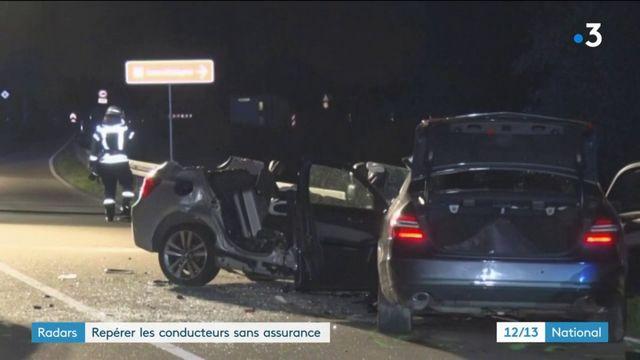 Radars : repérer les conducteurs sans assurance