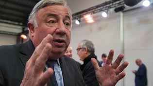 Gérard Larcher, le 12 janvier 2015, à Bordeaux (Gironde). (UGO AMEZ / SIPA)
