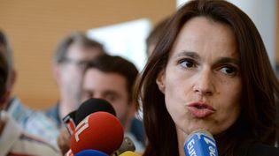 Aurélie Filippetti à Avignon le 16 juillet 2014  (Boris Horvat / AFP)