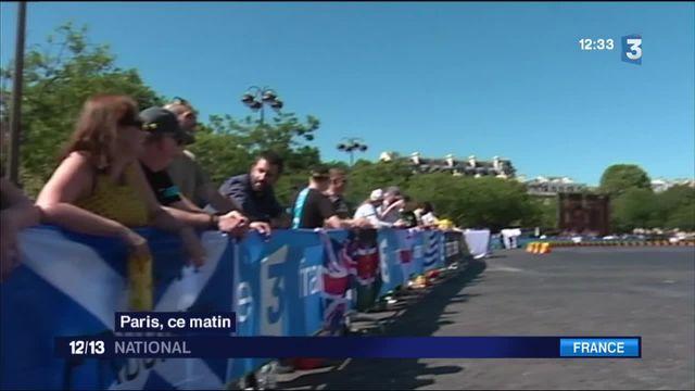 Tour de France : arrivée sous haute surveillance
