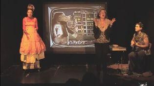 """Capture d'écran de la bande annonce de la pièce """"La princesse qui n'imait pas les princes"""", de la compagnie La môme perchée. (LA MOME PERCHEE / YOUTUBE)"""