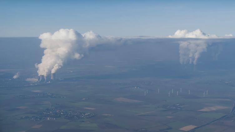 Des centrales à charbon en Allemagne (photo d'illustration). (ROGER ERITJA / BIOSPHOTO / AFP)