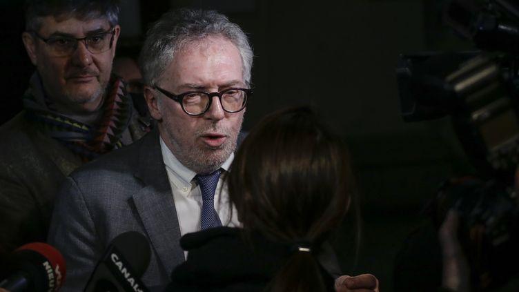 """Philippe Duperron, président de l'association """"13onze15 Fraternité et vérité"""" (THIERRY ROGE / AFP)"""