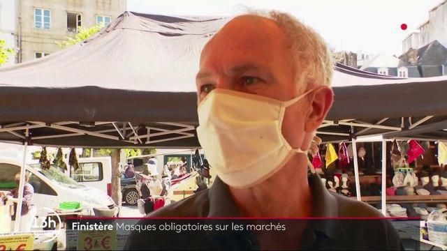 Finistère : masques obligatoires sur les marchés