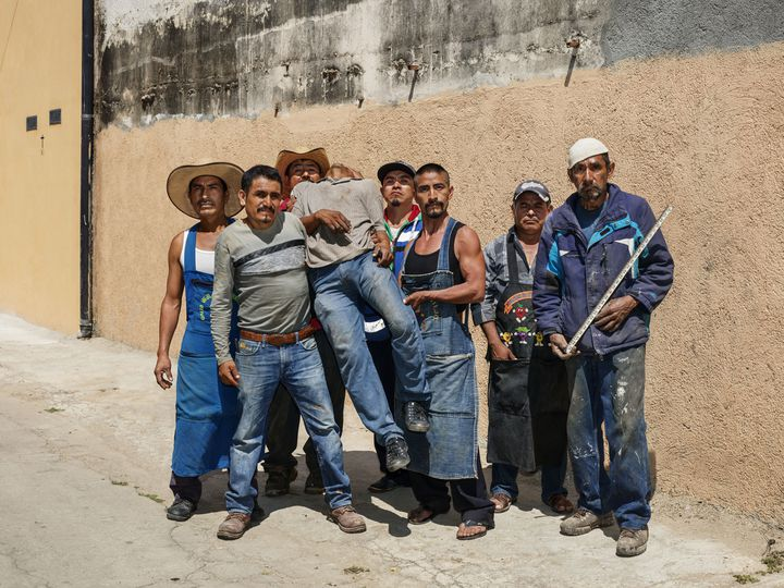 Pieter Hugo, After Siqueiros [Après Siqueiros], Oaxaca de Juárez, 2018 (© Rencontres d'Arles)