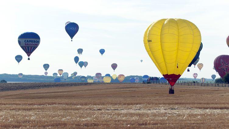 Mondial Air Ballons, en juillet 2015. (JEAN-CHRISTOPHE VERHAEGEN / AFP)