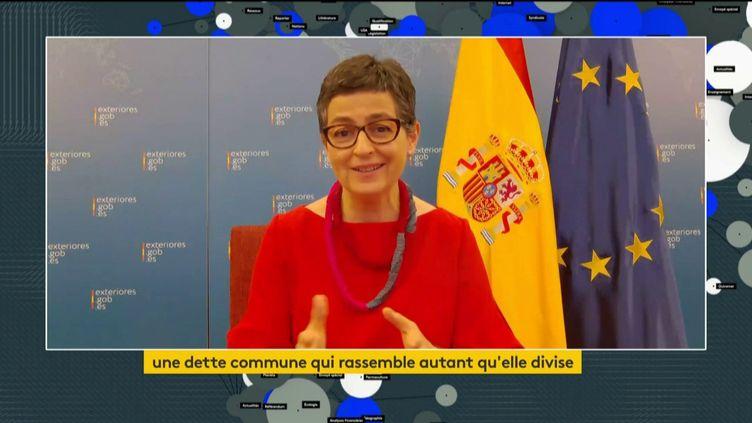 Arancha Gonzàlez Laya (FRANCEINFO)