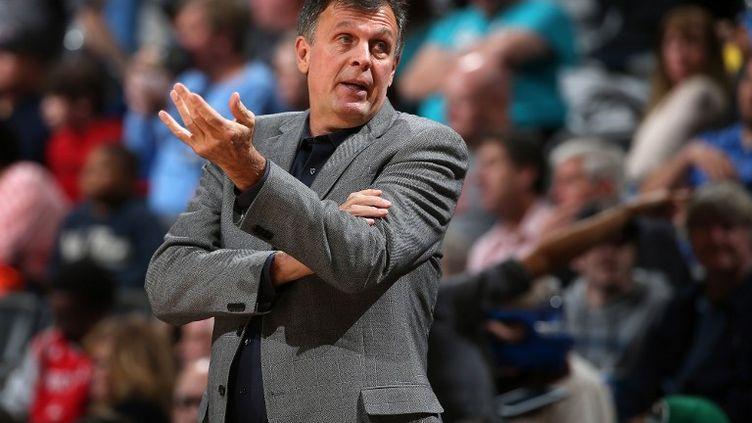 Kevin McHale, ancien entraîneur de Houston (DOUG PENSINGER / GETTY IMAGES NORTH AMERICA)