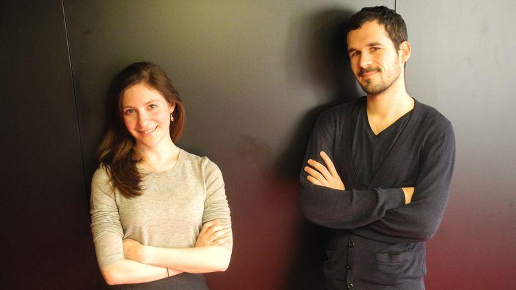 Eloïse Bella Kohn et Lomic Lamouroux, deux parmi les Révélations Classiques de l'ADAMI de cette année.  (Lorenzo Ciavarini Azzi/Culturebox)