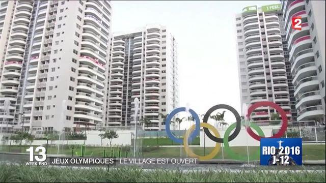 JO : À la découverte du village olympique
