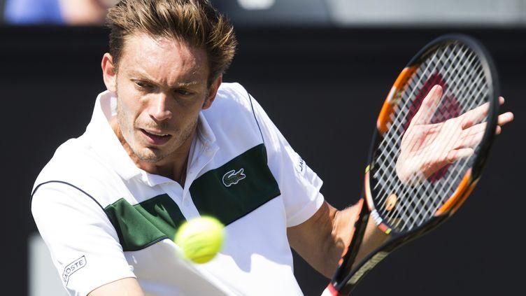 Nicolas Mahut lors du tournoi de Rosmalen. (KOEN SUYK / ANP)