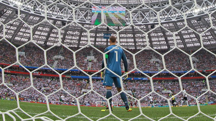 Manuel Neuer avec l'Allemagne en Russie (FIRO/SEBASTIAN EL-SAQQA / AUGENKLICK/FIRO SPORTPHOTO)