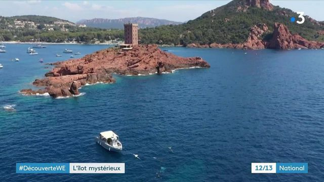 Var : la magnifique île d'or à Saint-Raphaël