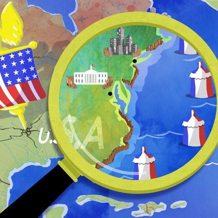 Si Astérix s'est popularisé hors de nos frontières, les Etats-Unis résistent encore et toujours à l'envahisseur. (PIERRE-ALBERT JOSSERAND / FRANCEINFO)