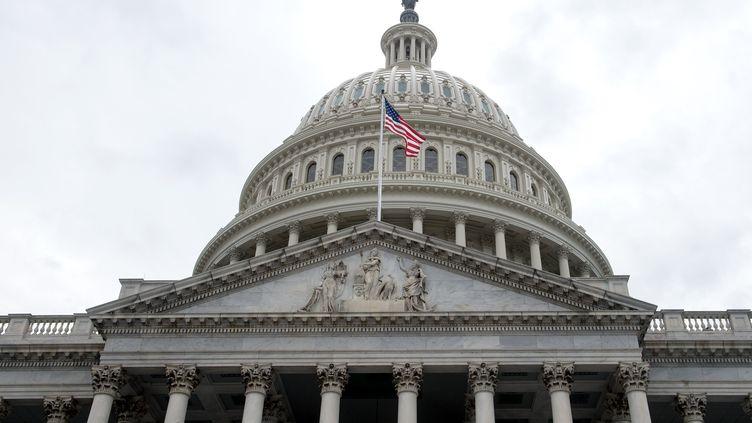 Le Capitole, siège du Congrès américain, le 4 mai 2017 à Washington (Etats-Unis). (NICHOLAS KAMM / AFP)