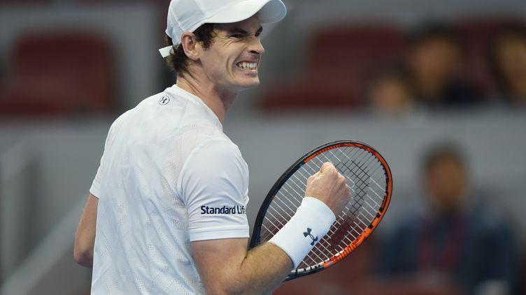 La rage de vaincre d'Andy Murray (JU HUANZONG / XINHUA)
