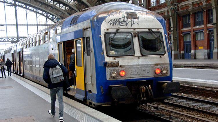 (Un TER en gare de Lille © MaxPPP)