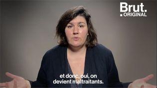 """VIDEO. Anna Roy : """"Monsieur le président, je voudrais vous parler des conditions dans lesquelles les femmes accouchent, en France, en 2020."""" (BRUT)"""