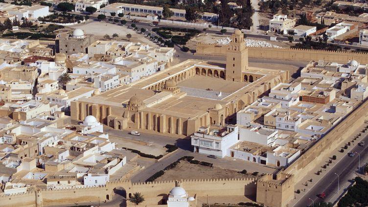 Ces six étudiants ont été arrêtés à Kairouan, dans le centre dela Tunisie. (GUIDO ALBERTO ROSSI / AGF / AFP)