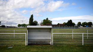 Un club de football amateur à Herblay (Val-d'Oise), le 30 avril 2020. (FRANCK FIFE / AFP)