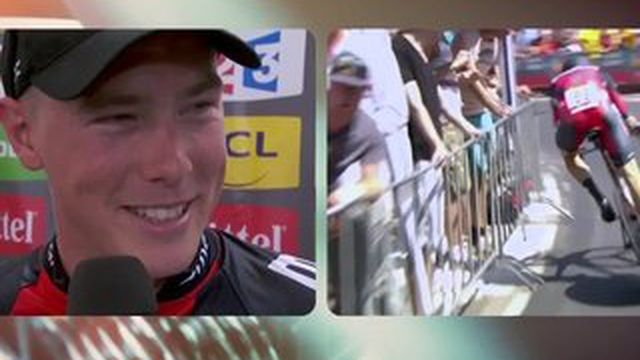 Rohan Dennis remporte la 1ère étape du Tour de France