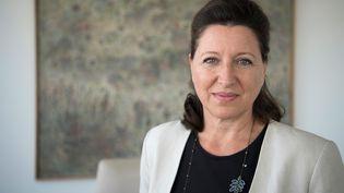 L'ancienne ministre de la Santé et nouvelle candidate LREM à la mairie de Paris, Agnès Buzyn, le 17 septembre 2018 à Paris. (ERIC FEFERBERG / AFP)