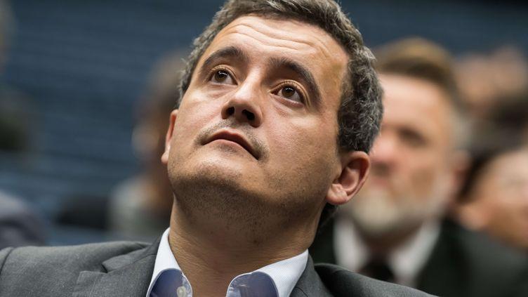 Le ministre de l'Action et des Comptes publics, Gérald Darmanin, le 7 décembre 2017 à Paris. (JACQUES WITT / SIPA)