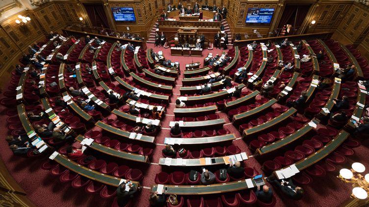 Le Sénat à Paris, le 22 février 2018. (GARO / PHANIE)