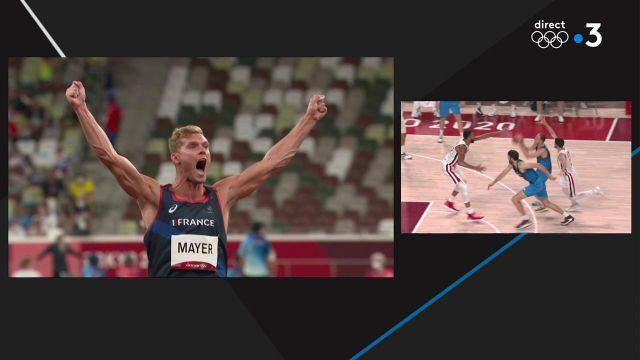 Le deuxième essai du Français a été plus que concluant. Kevin Mayer a atteint les 73,09 m avec la pointe de son javelot lors de l'épreuve comptant pour le décathlon.