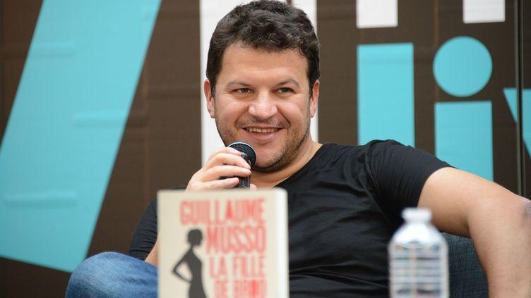 Guillaume Musso à Paris au Forum Fnac livres en septembre 2016  (Laurent Benhamou / SIPA)