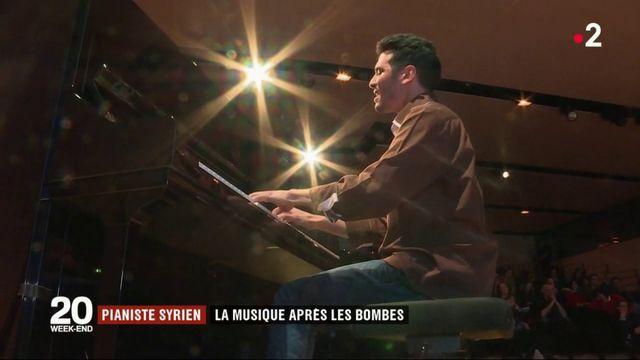 La musique après les bombes : Ayham Ahmed, pianiste syrien