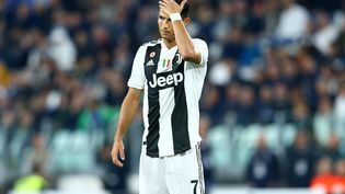 Cristiano Ronaldoà l'Allianz Stadium lors d'un match contre Bologne, le 26 septembre 2018, à Turin. (MATTEO CIAMBELLI / NURPHOTO / AFP)