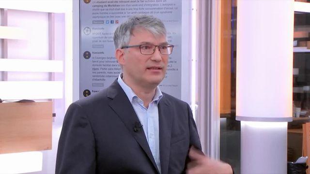 François-Xavier Weill, chef de l'unité des bactéries pathogènes entériques à l'Institut Pasteur