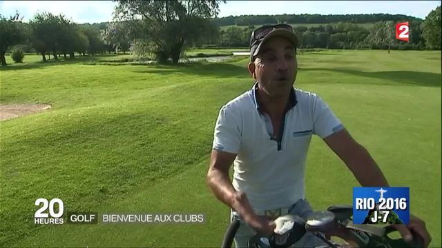 Golf : bienvenue aux clubs