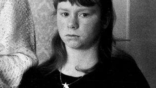 Murielle Bolle, belle-sœur de Bernard Laroche et témoin-clé dans l'affaire Grégory, en 1985. (MAXPPP)