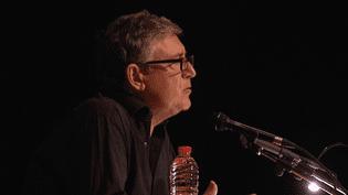Michel Onfray anime 14 exposés en une semaine.  (France 3 / Culturebox)