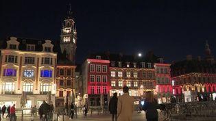 À Lille, dans le Nord, les illuminations de Noël font le bonheur de tous. (CAPTURE D'ÉCRAN FRANCE 3)