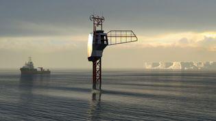 Le Polar Pod, projet de plateforme habitée destiné à explorer l'océan. (CC BY-SA 4.0 JEAN-LOUIS ETIENNE VIA WIKIMEDIA COMMONS)