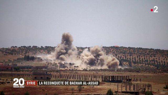 Syrie : la reconquete de Bachar al-Assad