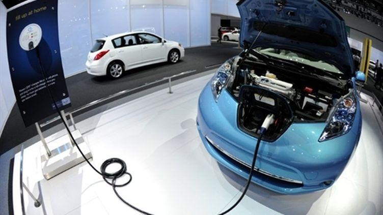 Le coût d'un véhicule électrique tourne autour de 30.000 euros. (AFP - Gabriel Bouys)